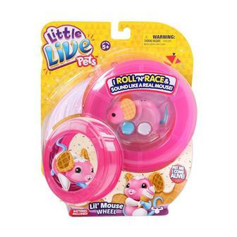 Інтерактивна іграшка - Мишеня з колесом Little Live Pets