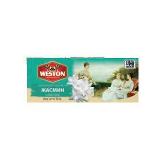 Чай Weston пакетований чорний Saursep Jasmin Earl Grey 50г