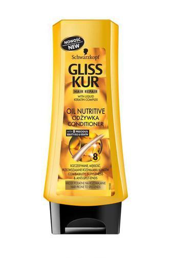 Скидка 25% ▷ Бальзам Gliss Kur для длинного и посеченного волоса Oil Nutritive, 200мл