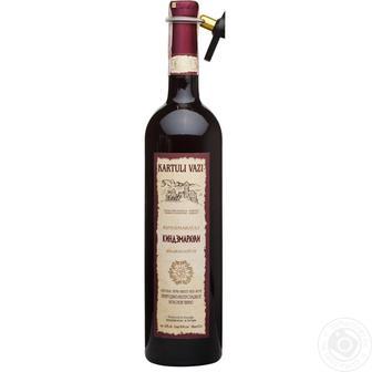 Вино червоне Картулі Вазі напівсолодке 0.75л