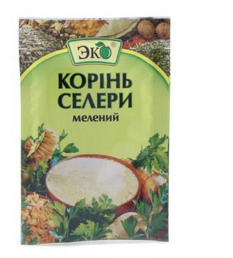 Корінь Эко Селери мелений зал.уп, 10 г