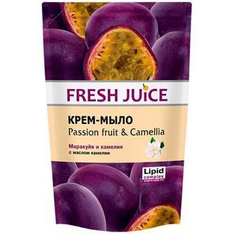 Крем-мило Fresh Juice маракуйя та масло камелии 460мл