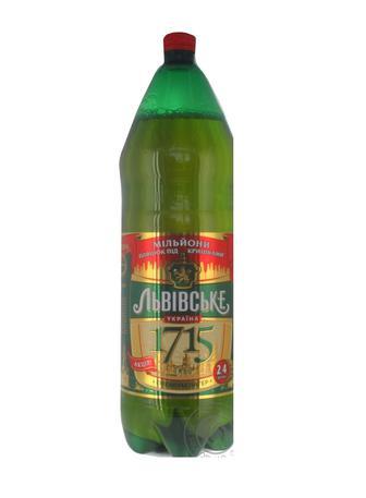 Пиво 1715 Львівське 2,4 л