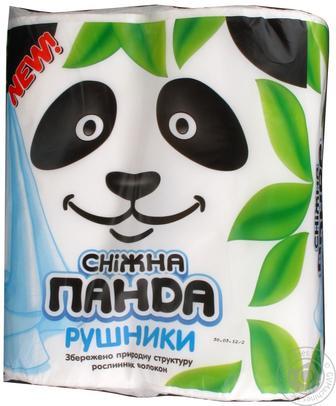 Полотенца бумажные Сніжна панда 2шт/уп