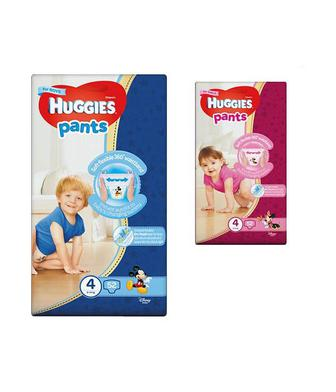 Підгузки-трусики для хлопчиків та дівчаток Хаггіс