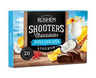 Скидка 28% ▷ Цукерки Roshen Shooters Pina Colada, 150г
