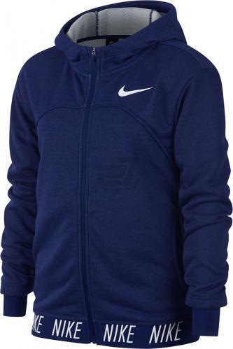 Джемпер Nike G NK DRY HOODIE FZ STUDIO 939533-478 р. L синій