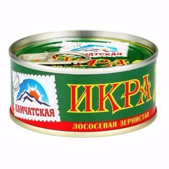 Ікра лососева Камчатська 100г