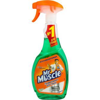 Засіб для миття скла Mr Muscle З нашатирним спиртом 500мл