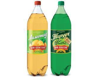 Скидка 10% ▷ Напій лимонад/тархун Бон Буассон 2л