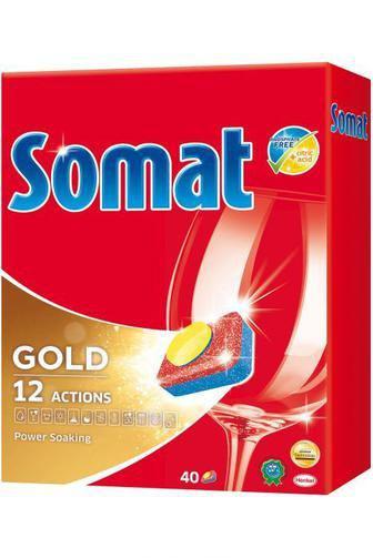 Таблетки для мытья посуды Somat Duo в посудомоечной машине , 40шт