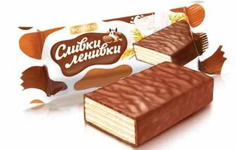 Скидка 28% ▷ Цукерки шоколадно-вафельні Рошен Слівкі-ЛІнівкі 100г