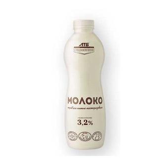 Молоко пастеризоване 3,2% АТБ Спецзамовлення