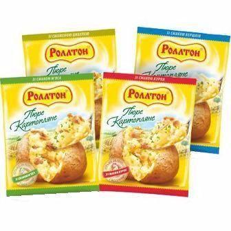 Пюре картопляне Роллтон 37г
