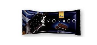 Мороженое Monaco Cookies глазированное Три Ведмеді, 80г