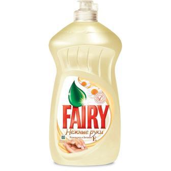 Скидка 21% ▷ Средство для мытья посуды FAIRY Ромашка и витами Е, 500мл