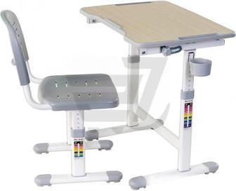 Комплект парта і стул-трансформер FUNDESK Piccolino II Grey