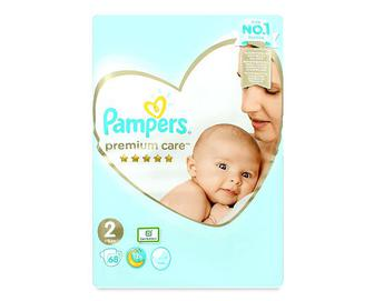 Підгузки Pampers Premium Care Mini, 4–8 кг 68шт