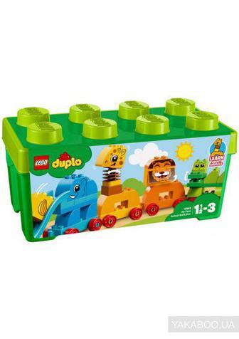 Конструктор LEGO DUPLO Коробка з кубиками Моя перша тварина