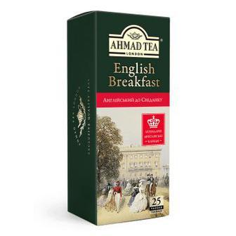 Чай «Английский к завтраку», AHMAD TEA, 25пак