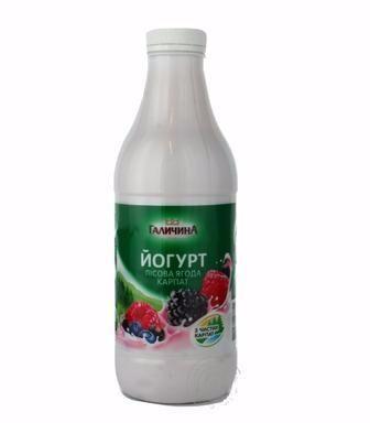 Йогурт Галичина, 22%, 870 г