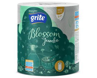 Рушники паперові Grite Blossom Jumbo, 1 рулон/уп
