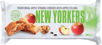Печенье Merba New Yorkers с яблоком 200 г
