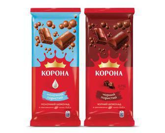 Шоколад пористий, Корона 80г