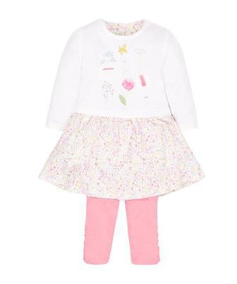 Сукня з квітковим принтом та легінси від Mothercare