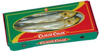 Салака х/к коробочка Самий смак 250 г