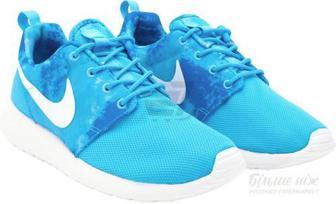 Кросівки Nike Roshe Run Print 599432-414 р. 7 блакитний