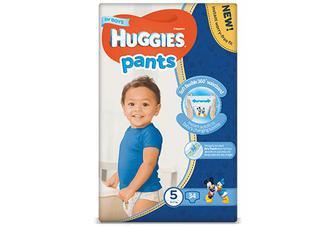 Підгузки-трусики Huggies Pants для хлопчиків 5 (12-17 кг) 34 шт