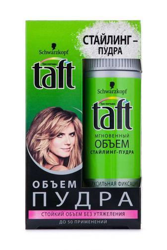Стайлинг-пудра для волос Taft Мгновенный объем сверхсильная фиксация, 10 г