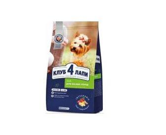 Корм Club 4 Paws Premium для собак малих порід 0,4 кг
