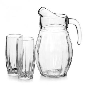 Скидка 10% ▷ Набор Pasabahce, кувшин и 6 стаканов