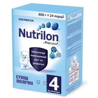 Смесь молочная Nutrilon 4 (от 18 месяцев) 600 г