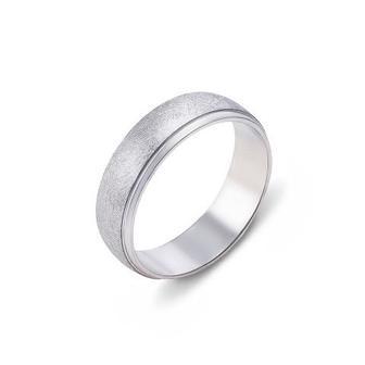 Обручальное кольцо с алмазной гранью. Артикул 10134/1б