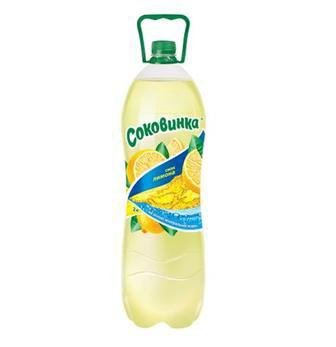НАПІЙ смак апельсина, лимона, 2 л СОКОВИНКА
