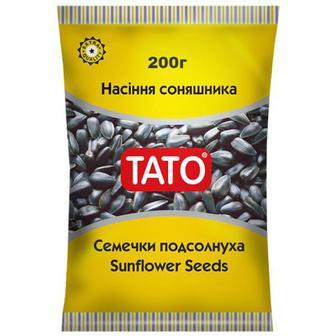 Насіння ТАТО соняшника смажене покрите сіллю 200г