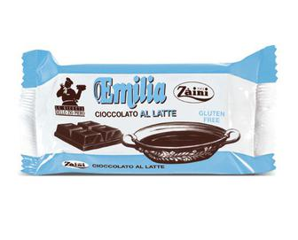 Шоколад Zaini Emilia молочний, 200г