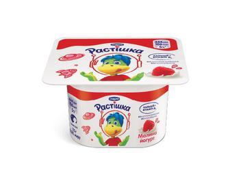 Йогурт «Растішка» з фруктовим наповнювачем малина, 2% жиру, 115г
