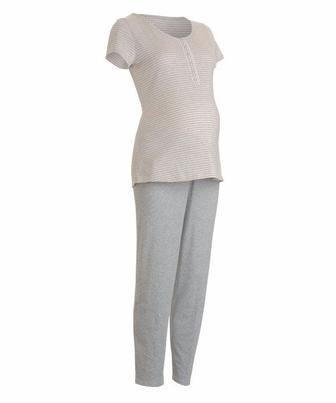 Піжама для майбутніх мам сірого кольору Blooming Marvellous