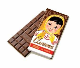 Шоколад Roshen Оленка молочний, Чайка темний молочний, 90г