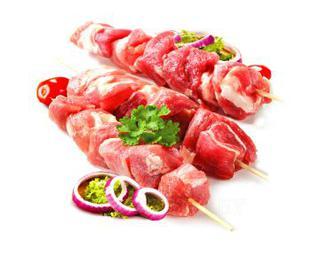 Шашлык маринованный из свинины с луком, кг