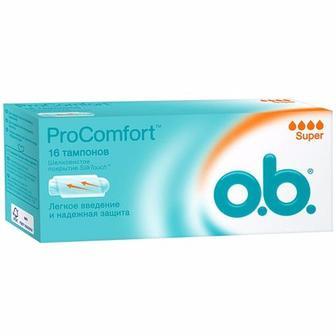 Тампони жіночі гігієнічні o.b. ProComfort