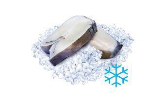 Зубатка стейк свіжоморожений 20% глазур 100 г