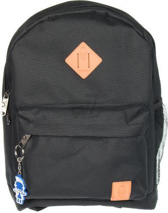 Рюкзак молодіжний Bagland 29x39x15 см чорний