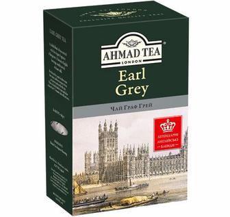 Чай чорний Граф Грей, Ahmad Tea, 100 г