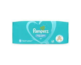 Серветки вологі Pampers Fresh Clean, дитячі, 52шт