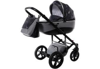 Дитяча коляска універсальна 2 в 1 Tako Nocturne 01 Grey